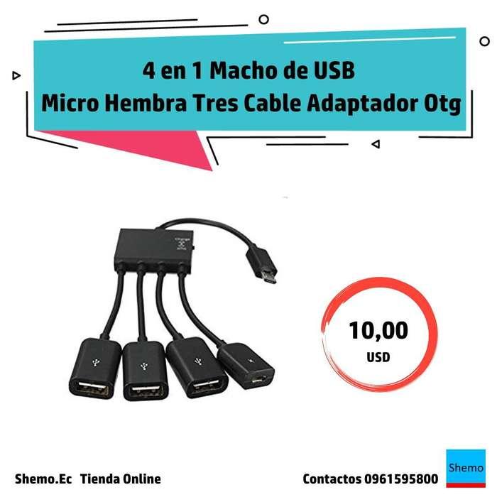 Cable Adaptador Otg