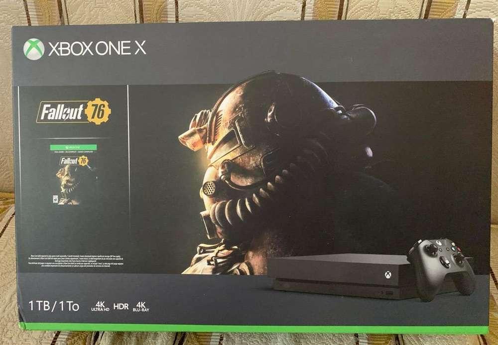 Xbox One X Nuevo.