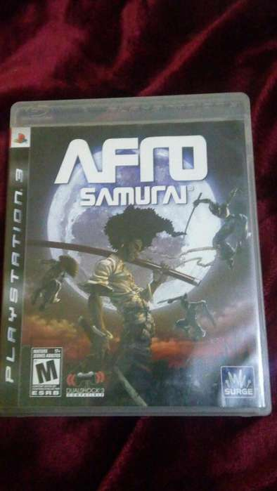Afro Samurai Play Station 3 Ps3