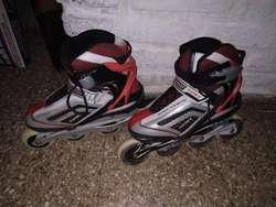 Rollers Daiwa Talle 37 Rojos