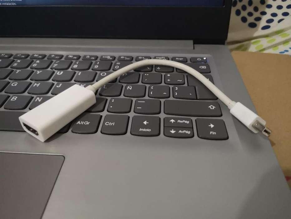 Cable Adaptador a Hdmi para Macbook Pro