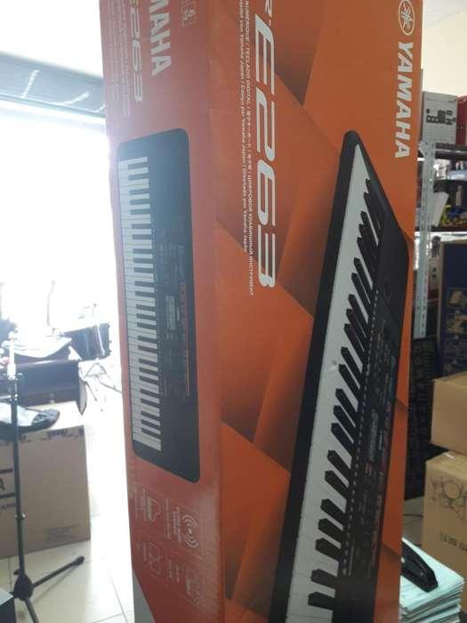 PIANO YAMAHA PSRE 263 NUEVO!! SELLADO!! ENTREGA INMEDIATA!!