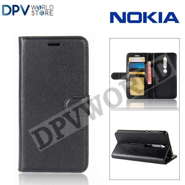 Estuche Agenda Nokia 6 Tipo Agenda Billetera Antigolpes