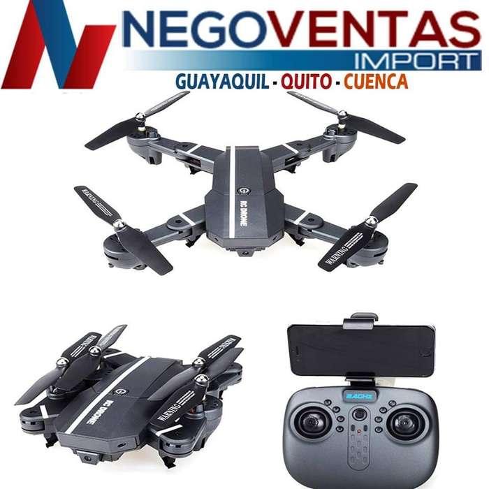 DRON RC 24 HG HASTA 70 MTS DE VUELO CON CAMARA Y VIDEO FACIL MANEJO
