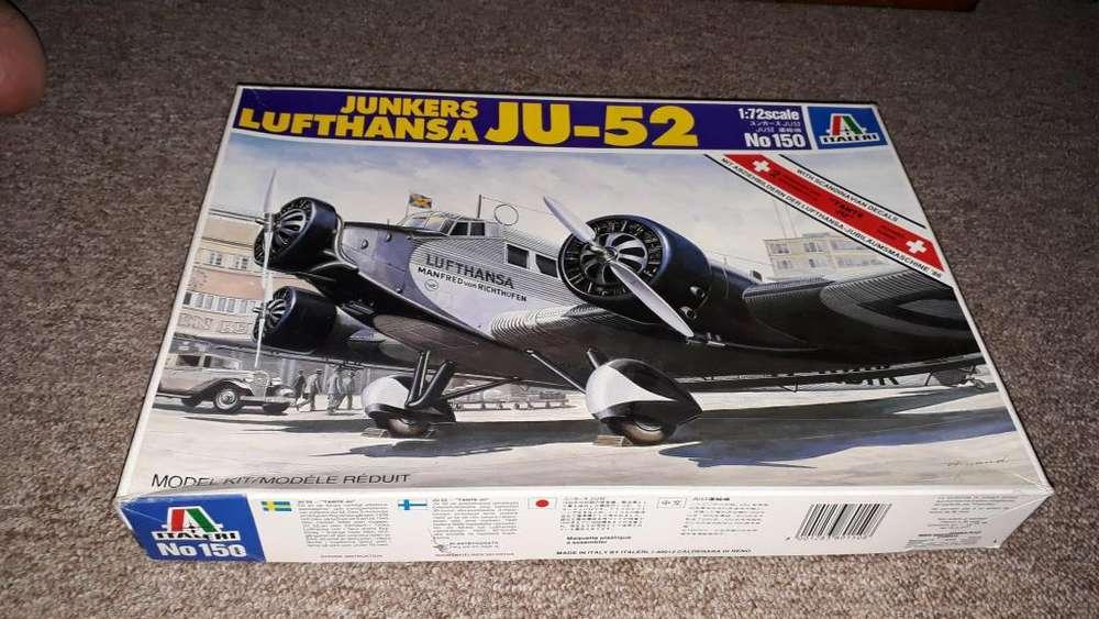 Maqueta para Armar Avion Junkers Ju 52