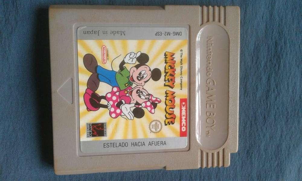 Juego Game Boy Color.