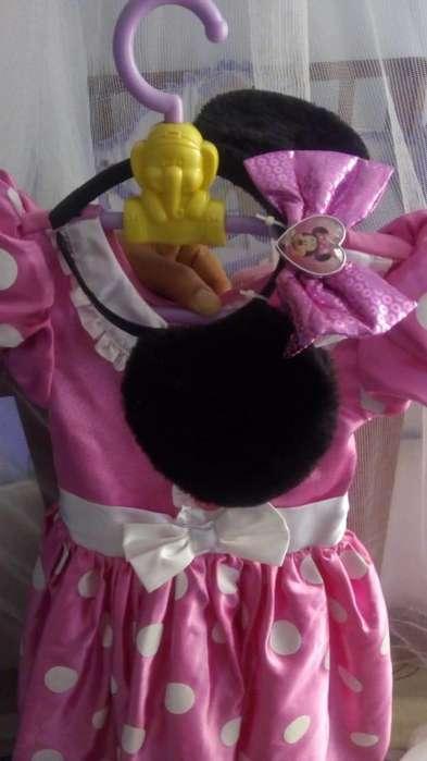 Disfraz para niña minie completo 50.000 y de dama antigua para niña de meses 20.000