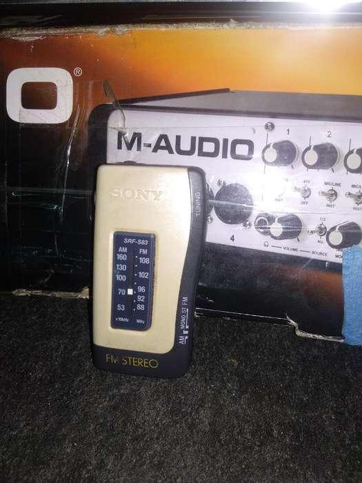 Radio Sony Walkman Original Medellín