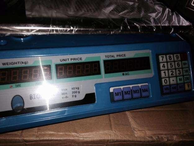 Balanzas Electronicas 40kg Poco Uso