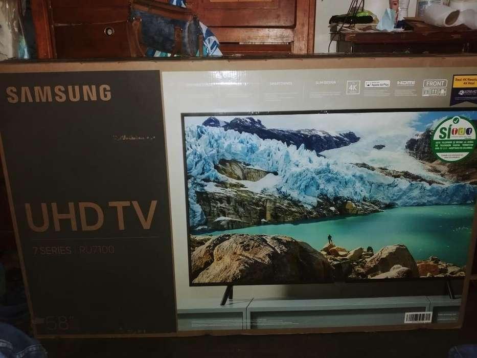 Vendo Tv 4k Smartv <strong>samsung</strong> de 58 Pulgads