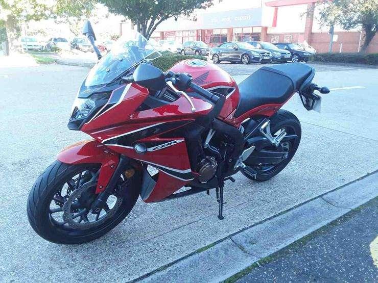 superbike <strong>honda</strong> 650