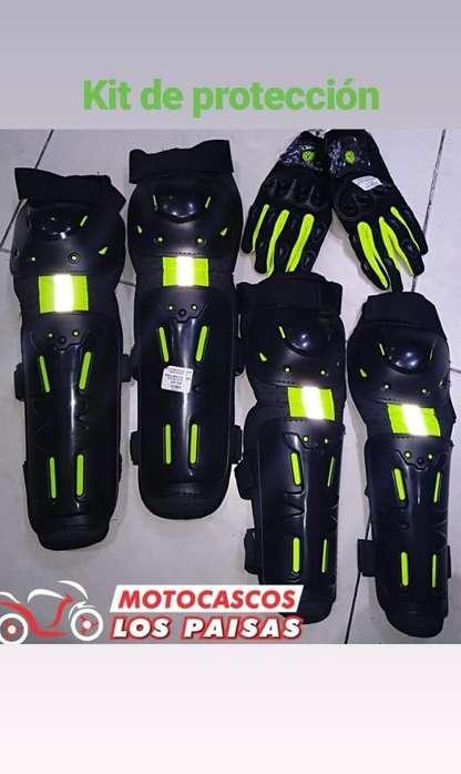 Rodilleras Dimo para Moto