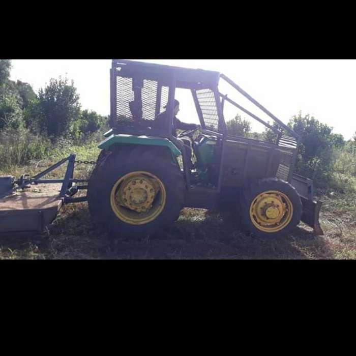 Vendo <strong>tractor</strong> Totalmente Forestizado 4x4