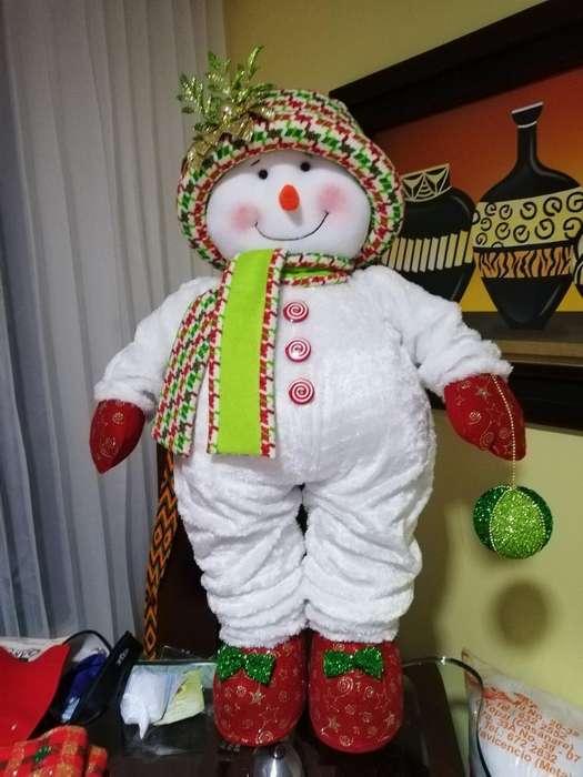 Hermoso Muñeco de Nieve
