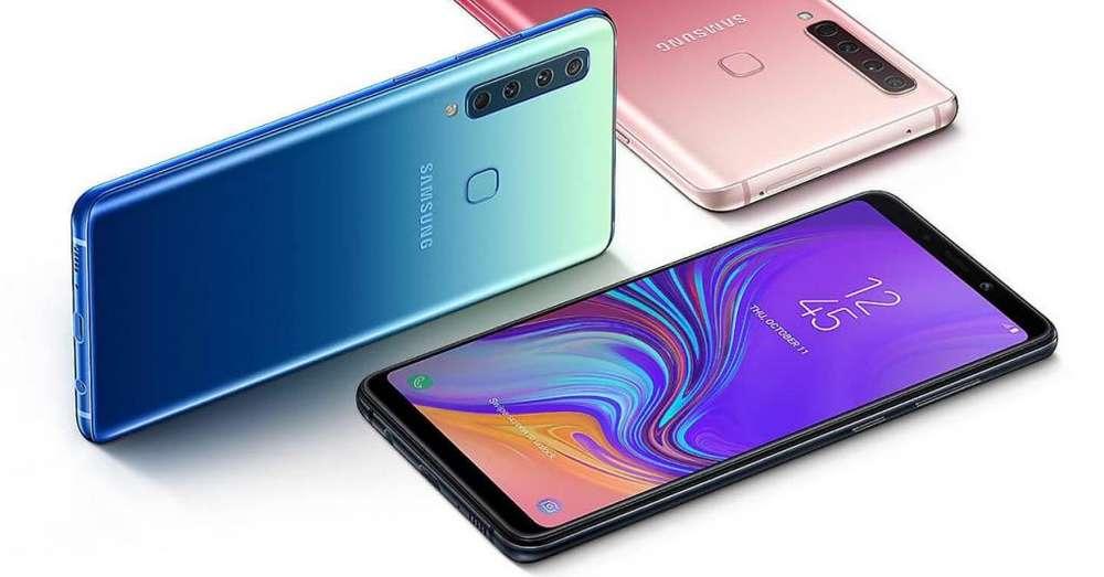 Samsung A9 2018 128gb 6gb Ram Negro / Tienda San Borja. Garantía.
