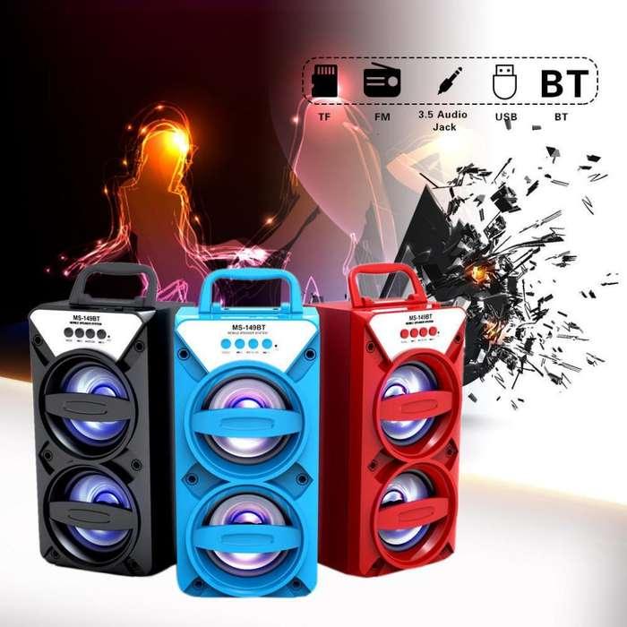 Espectacular Parlante <strong>karaoke</strong> Bluetooth