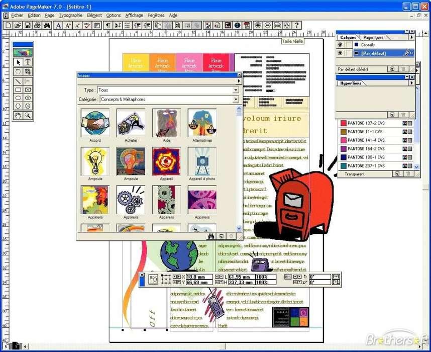 ADOBE PAGE MAKER 7 EDITOR WEB Y GRAFICO PROFESIONAL Adobe CHAVEZ Computacion