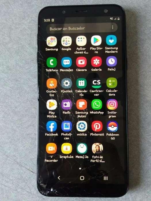 Se Vende Samsung J6 Roto El Vidrio