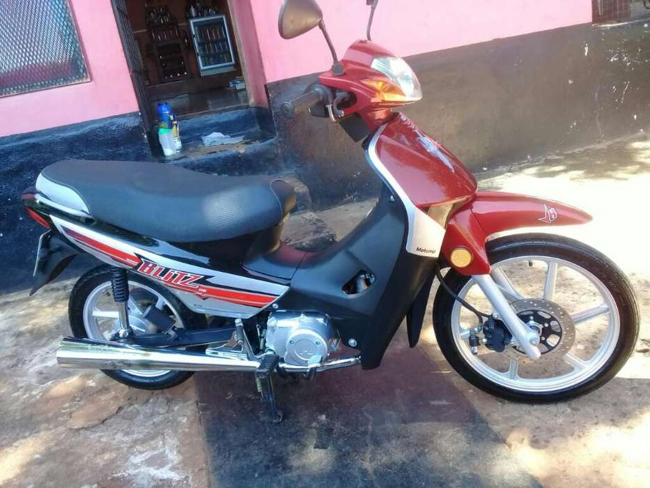 Vendo Motomel Blitz 110cc Full Impecable