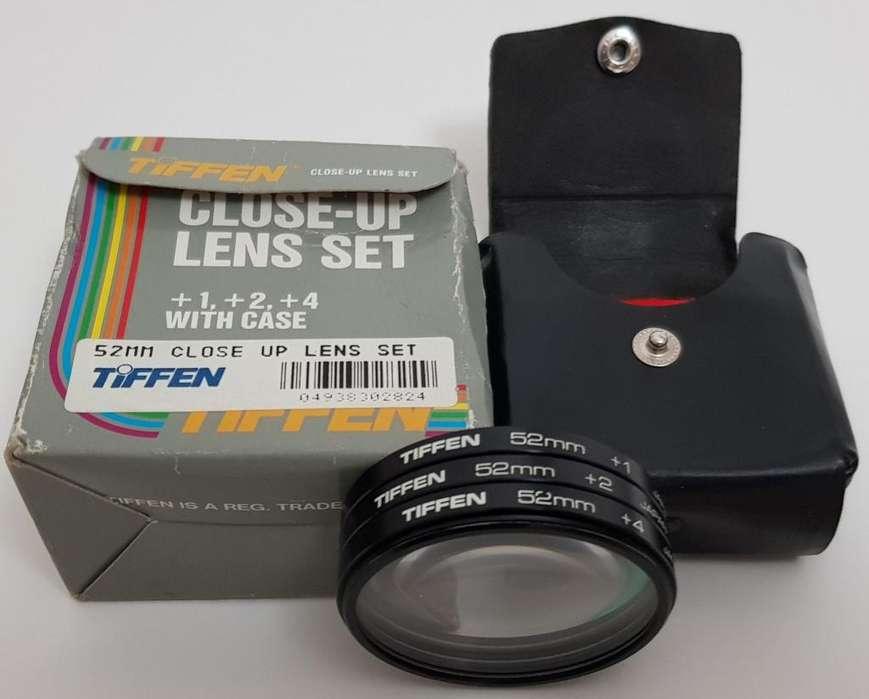 Kit 3 Lentes de aproximación Tiffen 52 mm