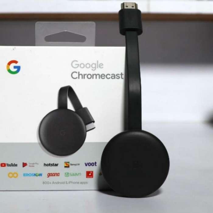 Chromecast 3(ultima Generación) Original