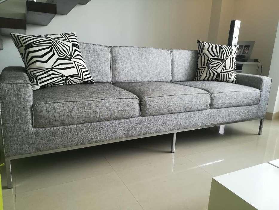 Vendo Sofá Sala 3 Puestos