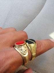 Prendas de Bronces Bañadas en Oro, 18k