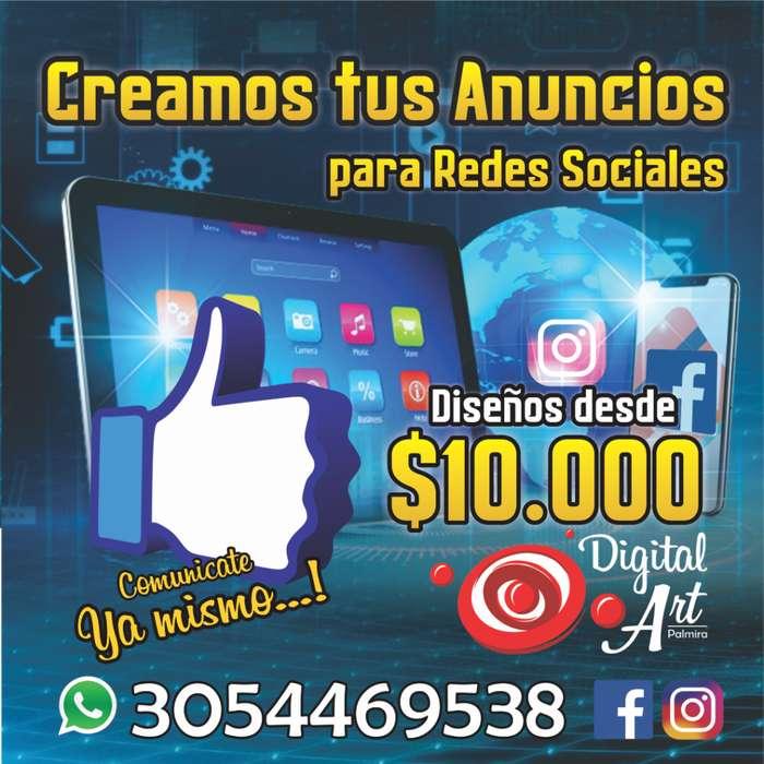 Publicidad para Redes Sociales