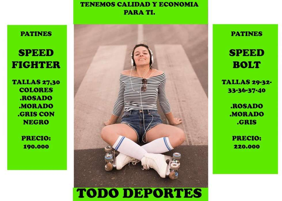 PATINES TODO DEPORTES