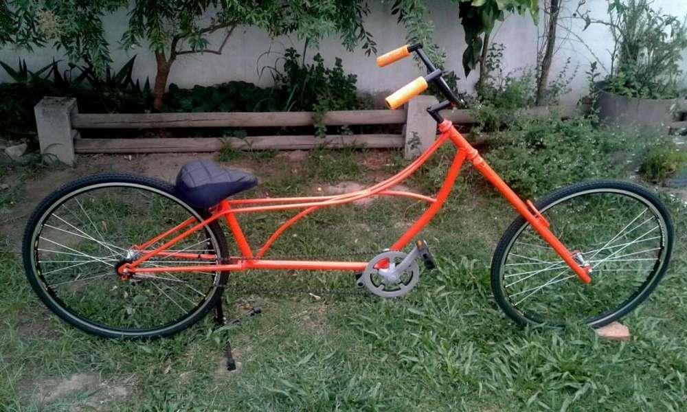 Bicicleta Playera Chooper Custom Rod 28