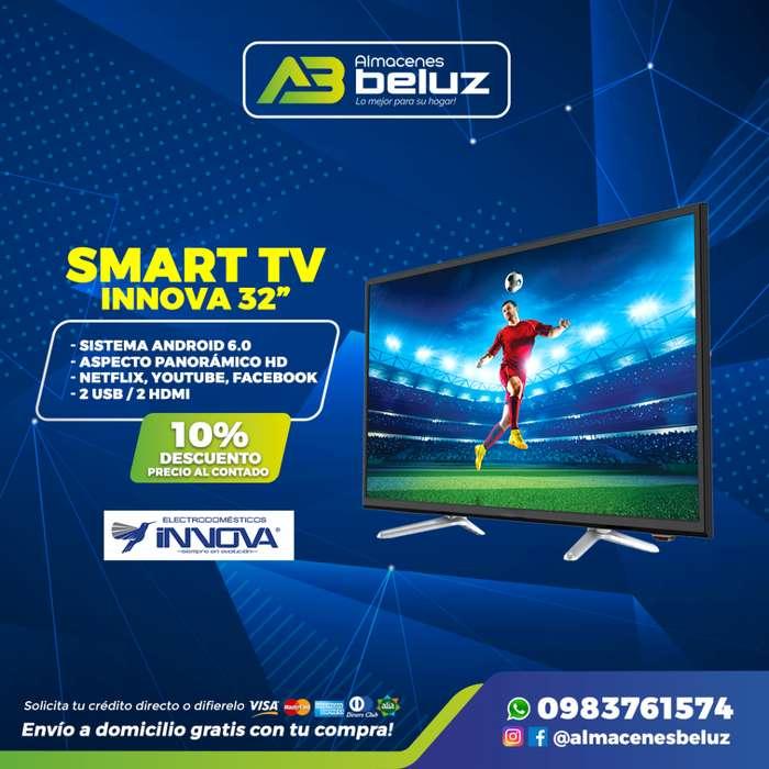 Smart Tv Innova 32 Netflix Youtube / Almacenes Beluz