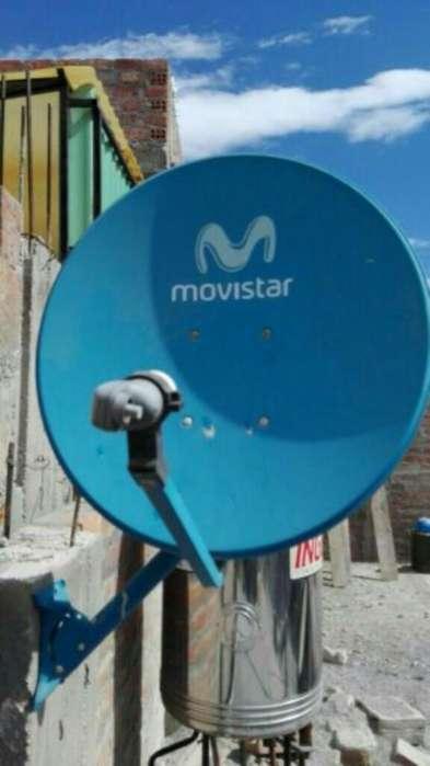 Tecn Instalo Antena Cable Trío Movistar