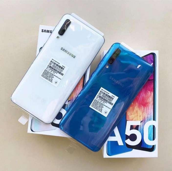 Samsung A50 64gb Nuevos Sellados Garantía 1 año