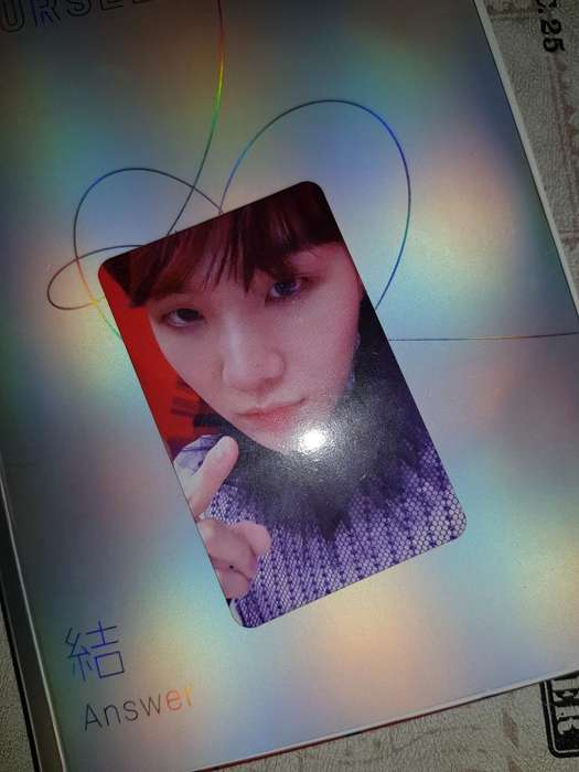 Bts Suga Photocard Original Ly Answer