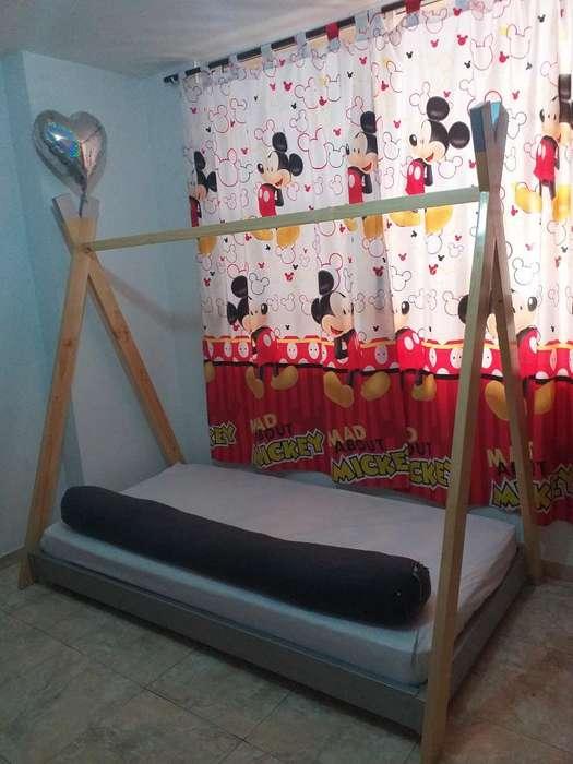 Vendo Cama Montessori Nueva con Colchon