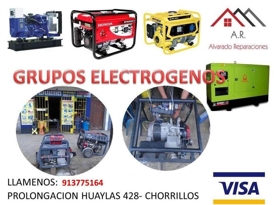REPARACIÓN , MANTENIMIENTO, ALQUILER DE GRUPOS ELECTRÓGENOS, GENERADORES PETROLEROS, GASOLINEROS EN LIMA- 913775164