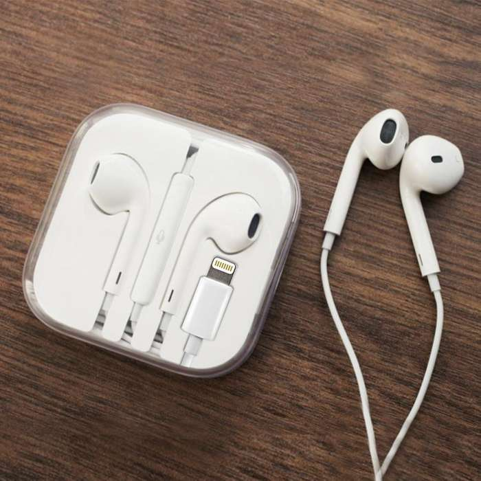 Auriculares Iphone sin uso