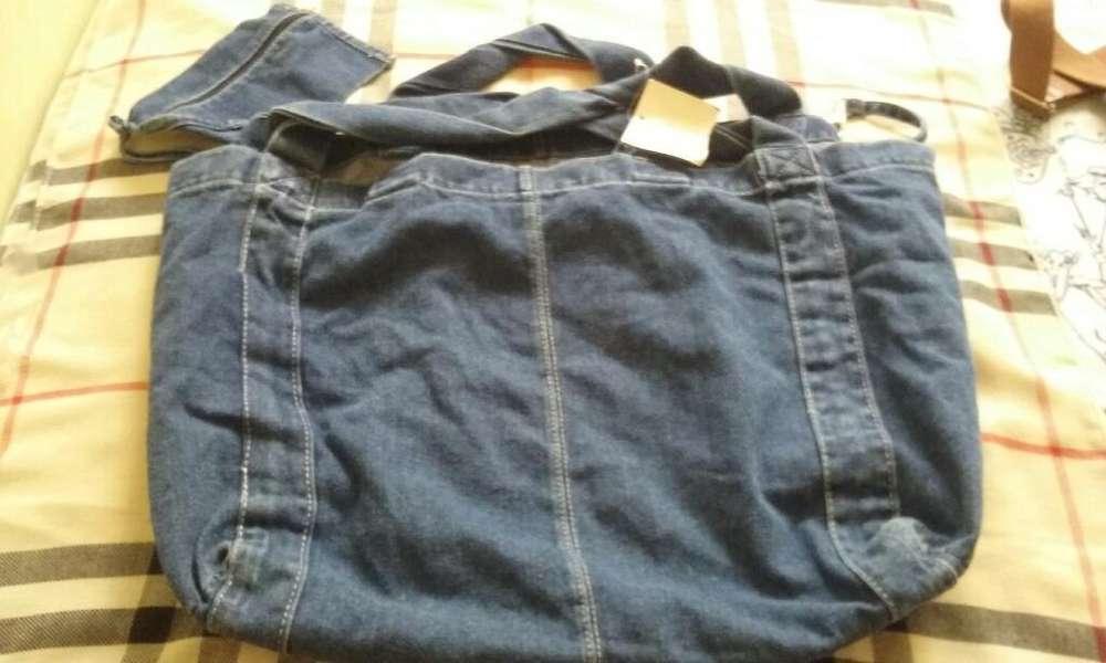 Bolso jean de Mujer Zara
