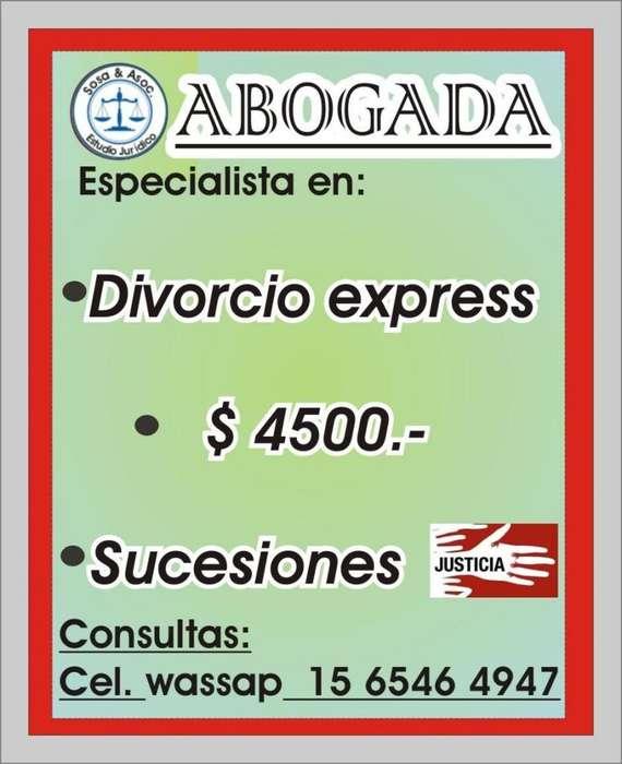 ABOGADOS CAPITAL FEDERAL MICRO CENTRO DIVORCIO EXPRESS. ACCIDENTE DE TRANSITO