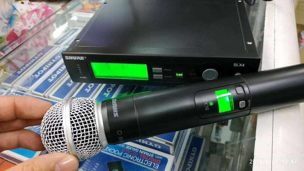 Micrófono Shure Slx Sm 58