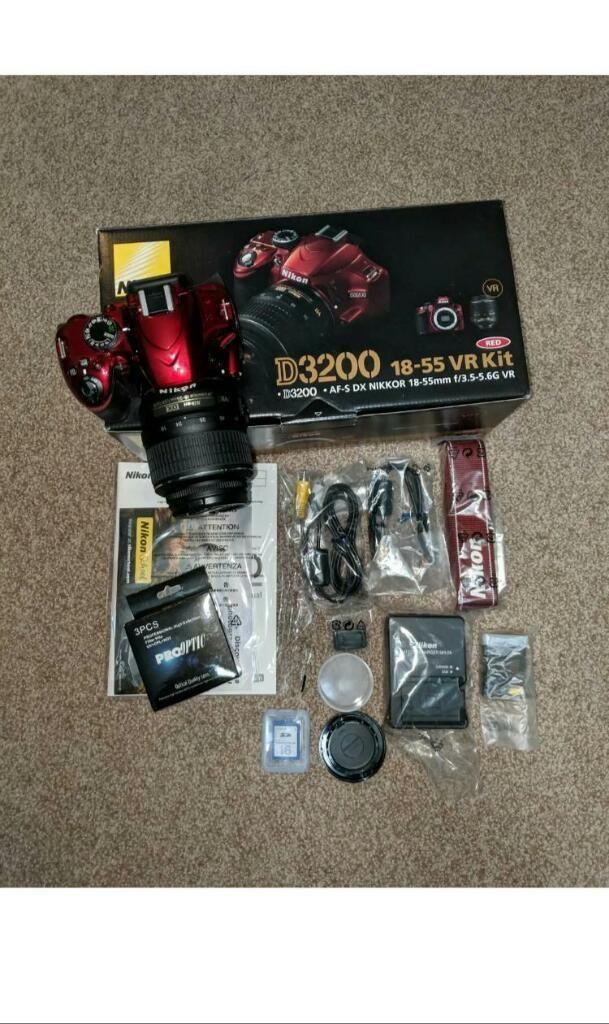 Original Nikon D3200 24.2mp Slr Cam