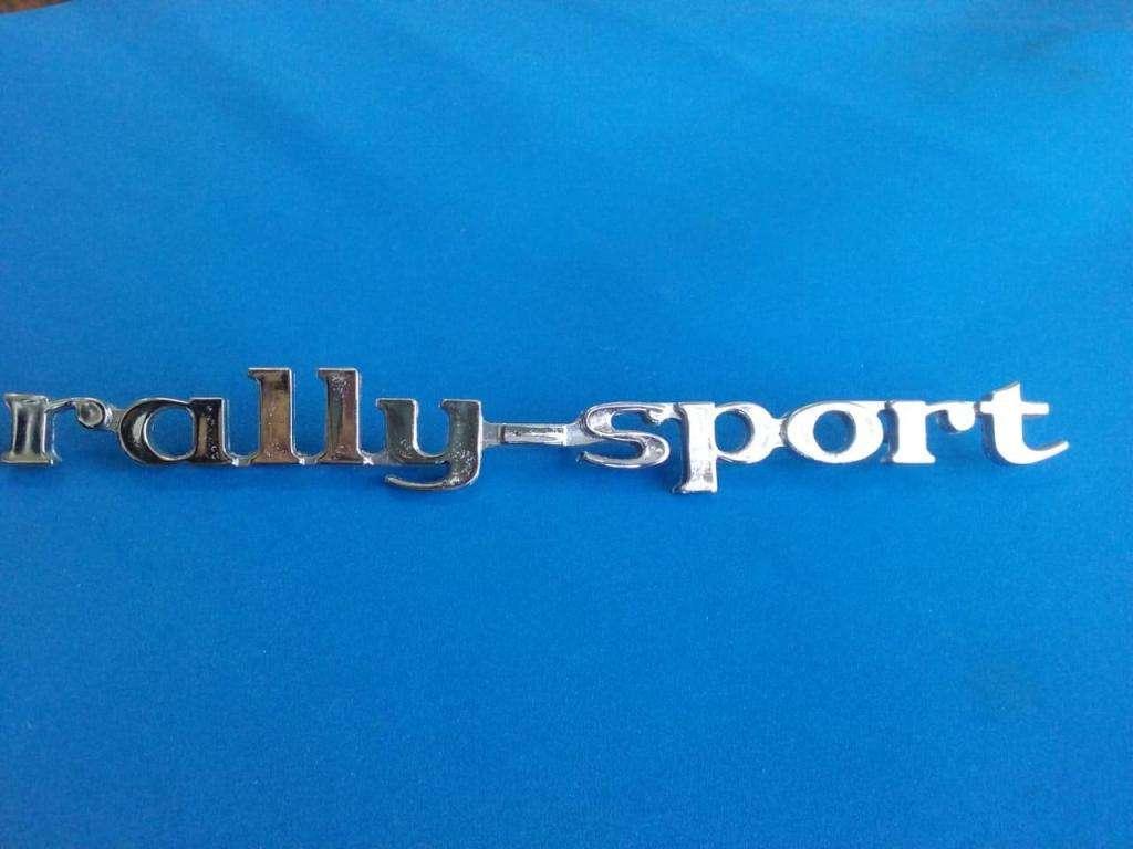 Insignia Rally Sport Chevrolet 400 LEGITIMA ver descripcion