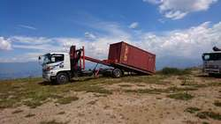 Alquiler camion grua gruas telescopicas montacargas autocargables ggwd