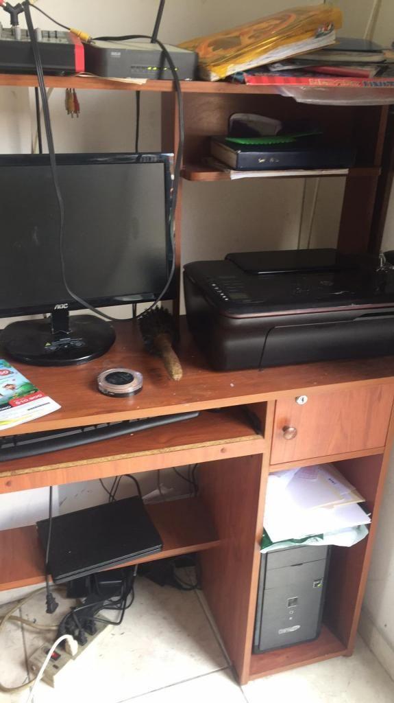 Vendo Conputador de Mesa Y Impresora