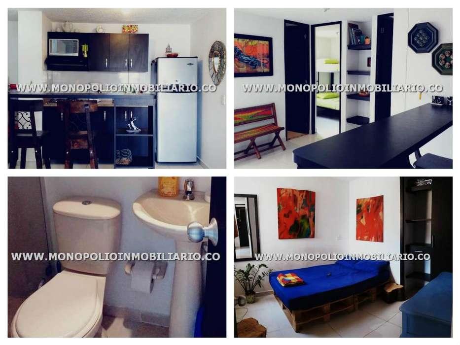 rento apartamento amoblado en el poblado código 17523