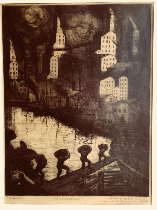 Pinturas De Quinquela Martín Y Galeano Belardinell