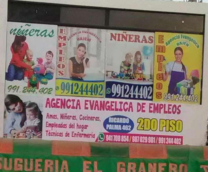 Empleadas Niñera Viva Puente Piedra