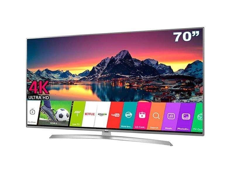 Televisor Lg 70uk6550 4k Smart Tv Ultrahd 70p Bluetooth Hdr