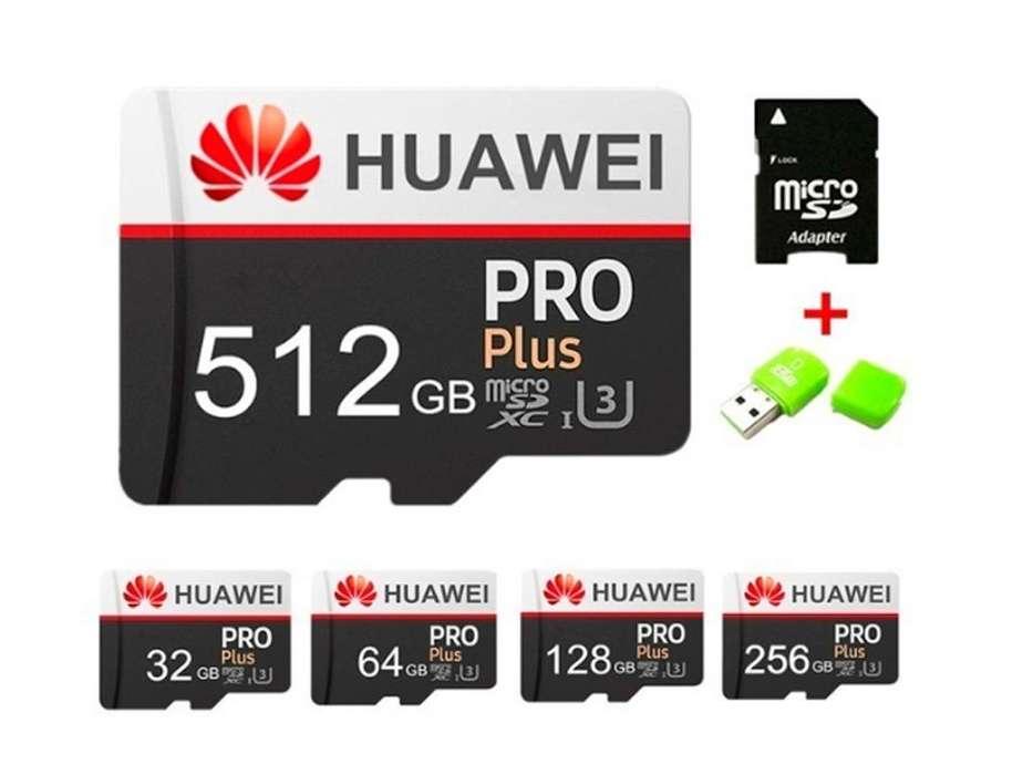 Tarjeta Memoria SDXC 512 GB Huawei Pro Plus - UHS-3 para 4k