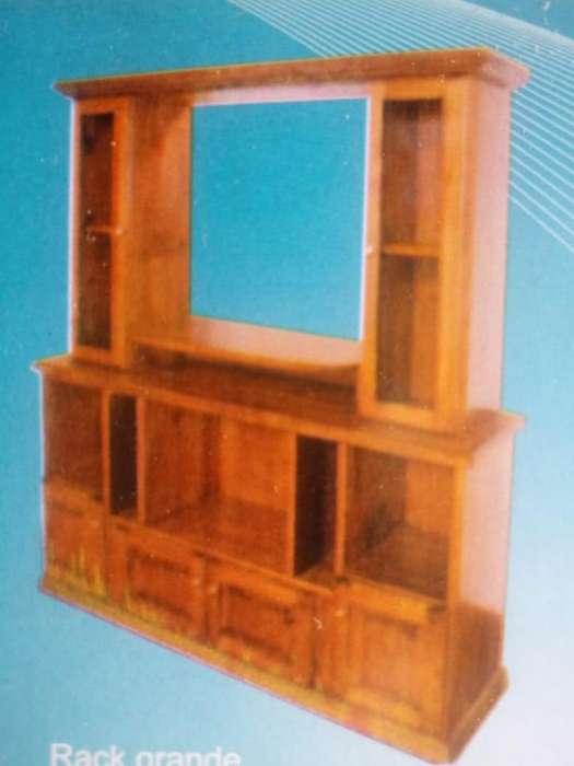 Rack de madera nuevo a 9230 pesos!!!!